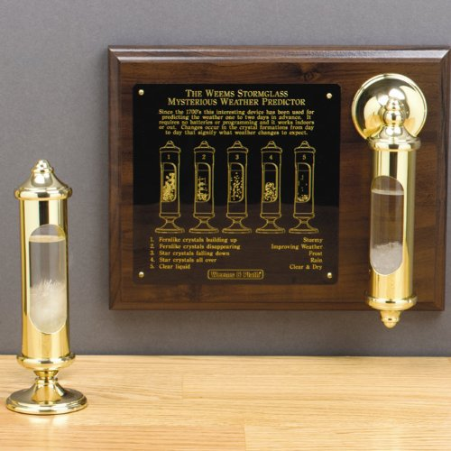Weems and Plath Stormglass with Display