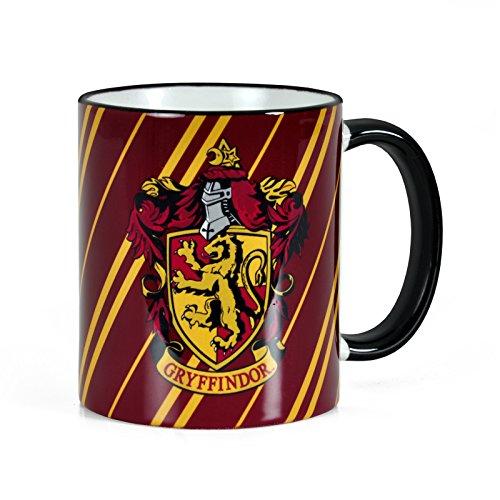 Harry Potter - Tazza dello stemma della Casa di Grifondoro - Capacità di 300 ml e licenza originale - Per veri fan di Hogwarts