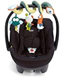 New Brand Baby Activity Spiral Crib Toy Car Seat/pram Cute Bear Infant Doll Rattle