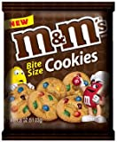 M&M'S BITE SIZE COOKIES 3 x 51g BAGS M&M