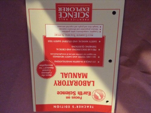 Teacher's Edition Focus on Earth Science Laboratory Manual (Focus on Science,...