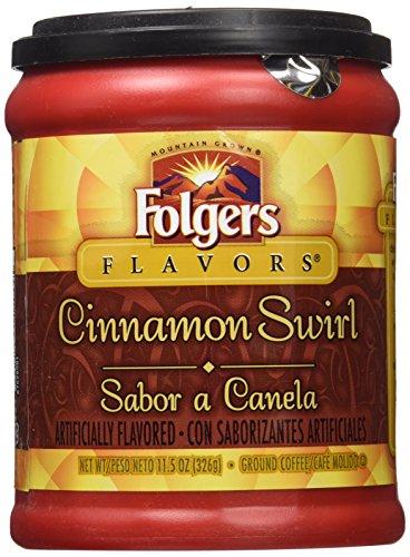 folgers-flavors-cinnamon-swirl-ground-coffee-1-x-326g-tub-american-imported