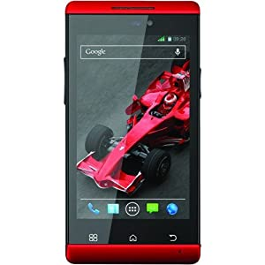 Xolo A500s IPS  Red  available at Amazon for Rs.6990