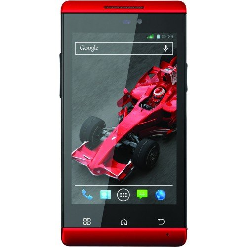 Xolo A500s IPS  Red  available at Amazon for Rs.7999