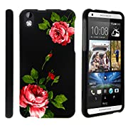 HTC Desire Case, Slim Fit Snap On Cover with Unique, Customized Design for HTC Desire (Virgin Mobile) from MINITURTLE | Includes Clear Screen Protector and Stylus Pen – Affectionate Flowers 816 816