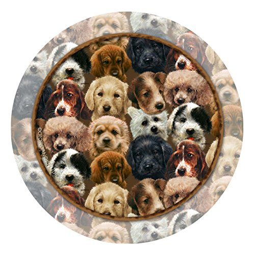 Thirstystone 4-pc. Puppy Collage Coaster Set