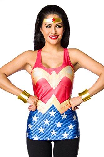Forte Wonderwoman-Tank-Top multicolore 42