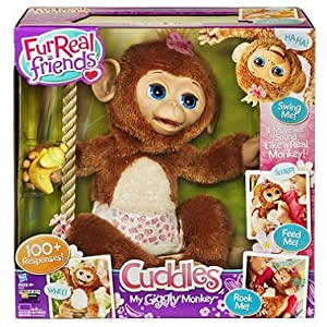 Furreal Friends Cuddles My Giggly Monkey Pet, By Hasbro by Hasbro