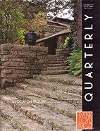 Frank Lloyd Wright Quarterly: A Focus on…
