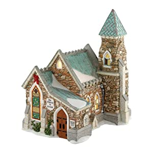 #!Cheap Dickens A Christmas Carol Village from Department 56 The Church At Cornhill