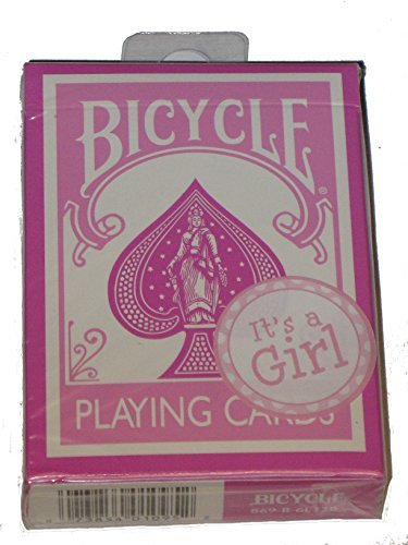 Bicycle Pink Rider Back Playing Cards