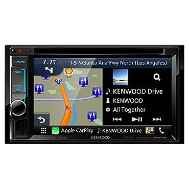 Kenwood DNX573S DVD/CD Player 6.2 Touchscreen LCD Navigation HD Radio Bluetooth