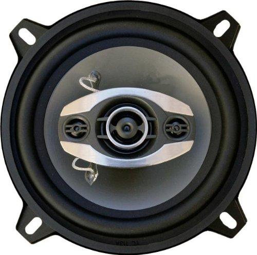 """Bass Rockers Br514 5.25"""" 300 Watt 4-Way Coaxial Car Speakers (Pair)"""