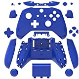 Canamite Replacement Parts Full Housing Shell Protective Case Cover Button Kit for Xbox ONE Slim Controller (Blue) (Color: Blue)
