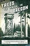 img - for Trees to Know in Oregon book / textbook / text book