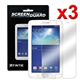 Fintie 3 Pack Ultra-Clear Screen Protector With Retail Package for Samsung Galaxy Tab 3 Lite 7.0 inch Tablet SM-T110