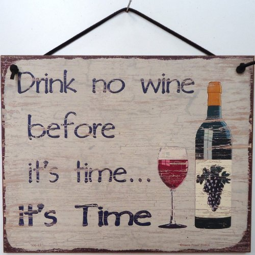 funny wine signs
