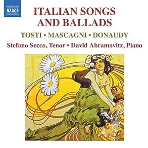 Italian Songs & Ballads