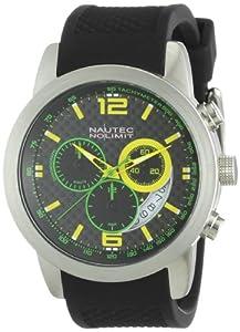 Nautec No Limit Herren-Armbanduhr Cobra CO QZ/RBSTSTCA-BM