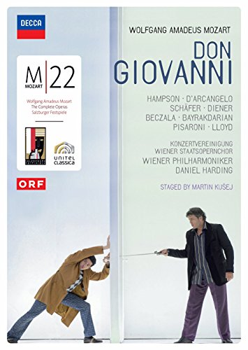 Don Giovanni: Vienna State Opera (Harding) [DVD] [2006]