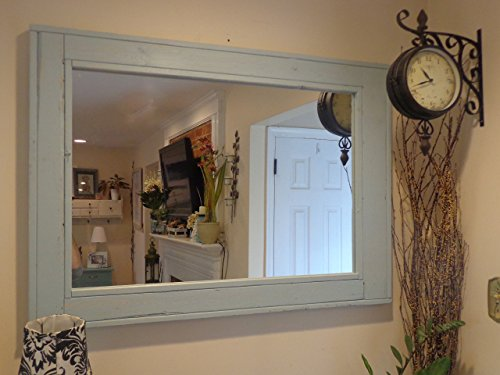 Reclaimed Wood Mirror - Large Wall Mirror -