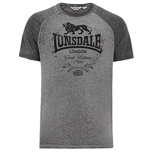 """'Lonsdale T-Shirt """"newmill-Marl Grey grigio (marl grey) XXL"""