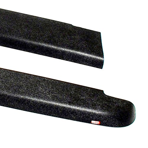 Wade 72-40151 Truck Bed Rail Caps Black Smooth Finish without Stake Holes for 1999-2007 Silverado & Sierra 1500 2500 (Classic only) with 6.5ft bed (Set of 2) (Truck Bed Rails Gmc compare prices)