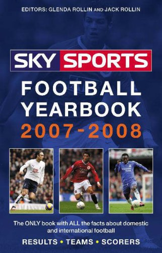 Sky Sports Football Yearbook 2007-2008, JACK ROLLIN, GLENDA ROLLIN