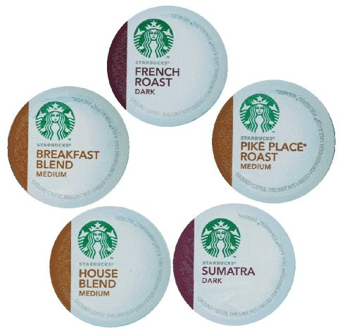 15 Count - Variety Pack of Starbucks K Cups