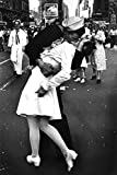 The Kiss VJ Day Times Square NYC New York City Sailor Kissing Woman In White Dress Poster - 12x18