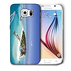 Snoogg Unique Island Printed Protective Phone Back Case Cover For Samsung Galaxy S6 / S IIIIII