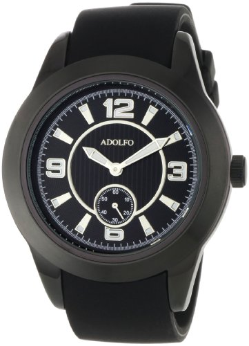 ADOLFO Men's 31007A Second Sub Zone Large Face Watch