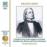 Franz Liszt: intégrale de l'oeuvre pour piano Vol. 6