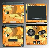 My Little Pony Applejack Friendship is Magic Video Game Vinyl Decal Cover Skin Protector for Nintendo GBA SP Gameboy Advance Game Boy