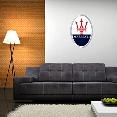MASERATI Italian racing emblem Wall Graphic Decal Sticker 25