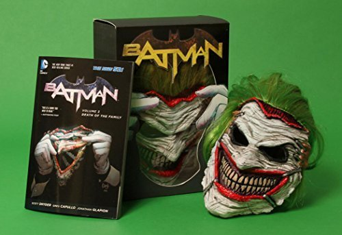 Batman: Death of the Family Book and Joker Mask Set by Snyder, Scott (2014) Paperback
