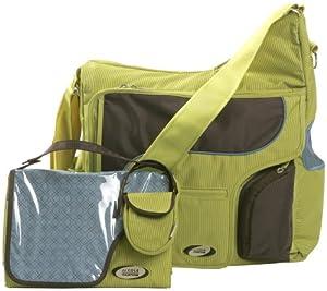 jj cole system bag green blue diaper tote. Black Bedroom Furniture Sets. Home Design Ideas