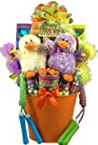 Gift Basket Village Easter Party Pail Gift Basket for One or More Kids, 9 Pound
