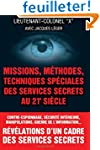Missions, methodes, techniques specia...
