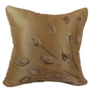 Throw Pillow Inserts 18 X 18 : Amazon.com: That s Perfect! Lotus Leaves Decorative Silk Throw Pillow Sham - Fits 18