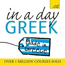 Greek in a Day  by Elisabeth Smith Narrated by Elisabeth Smith