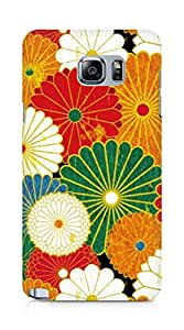 Amez designer printed 3d premium high quality back case cover for Samsung Galaxy Note 5 (Flowers Colourful 2)