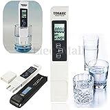 LCD Digital PH TDS EC EC Tester Meter Pen Water Monitor Aquarium Pool 0-9999 PPM