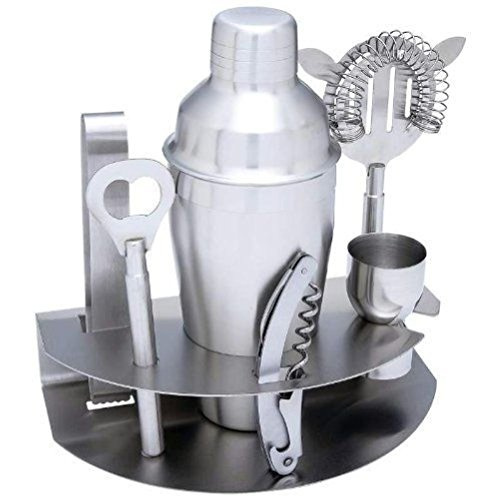 7PC STAINLESS STEEL BAR SET [Kitchen] (7pc Glass Salad Bowl Set compare prices)