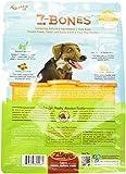 Zukes Z-Bones Dog Dental Chews, Clean Carrot Crisp, Regular, 8 Chews