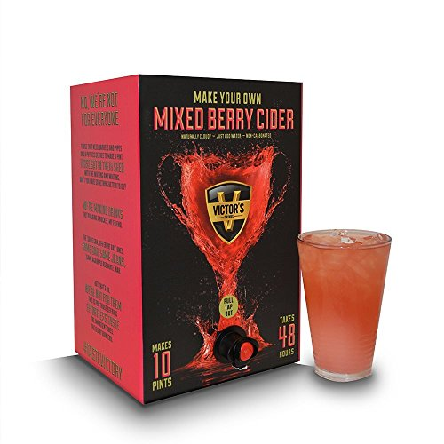 mixed berry cider making kit