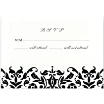 Celebration Silver Hearts Place Cards 3.75 x 1.5-Inches 48 Cards per Pack (1616)
