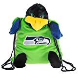 Seattle Seahawks NFL Plush Mascot Backpack Pal at Amazon.com