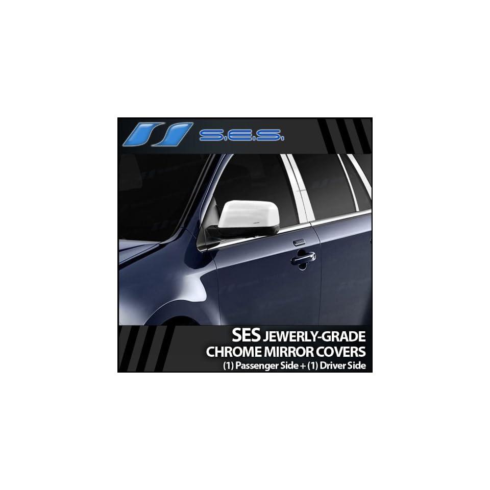 2007 2010 Ford Edge SES Chrome Mirror Covers