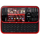 Nokia 5730 Xpress Music Smartphone (UMTS, Bluetooth, GPS, Nokia Maps, Kamera mit 3,2 MP, QWERTZ-Tastatur)  black/red